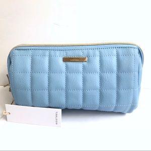 Pastel blue kestrel pencil bag